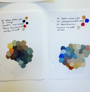 Color charts, an excellent Friday afternoon activity