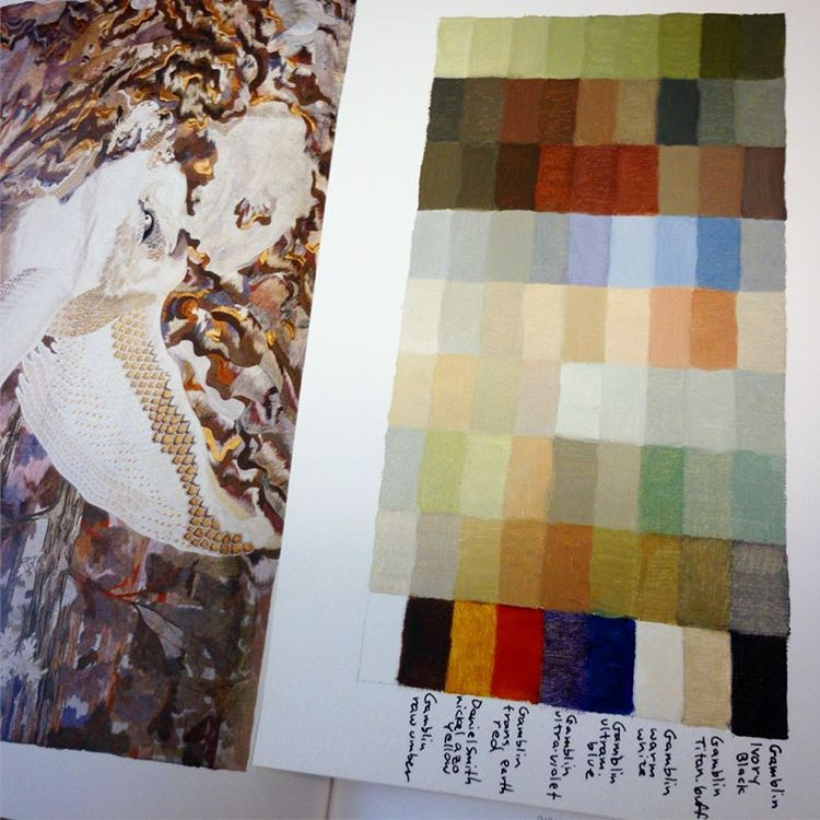The Color Charts Patty Haller Artist