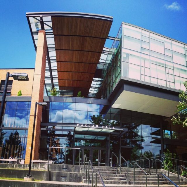 Paccar Hall so beautiful We are lucky in Seattle gohuskies